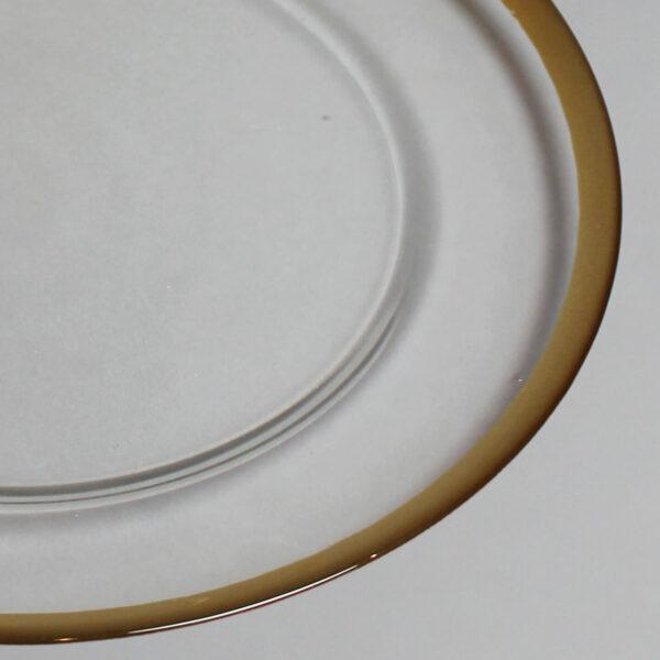 Gold wedding plate in Dubai