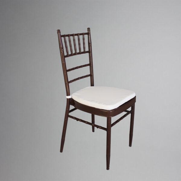 Brown chiavari chair for rent